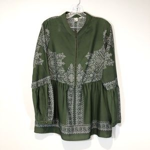 Anthropologie Konrad + Joseph Boho Top Large